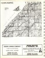 Map Image 006, Berrien County 1964